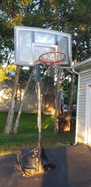 Basketball goal portable with base for Sale in Manassas, VA