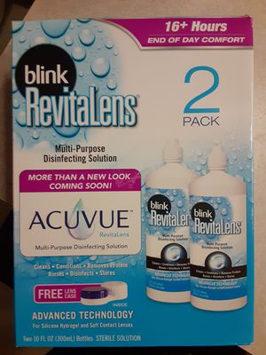 Acuvue blink revitalens for Sale in Puyallup, WA