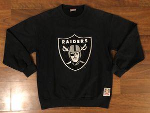 Vintage Los Angeles Raiders Crewneck Sweatshirt Men's Medium/Large Nutmeg Mills for Sale in Westminster, CA