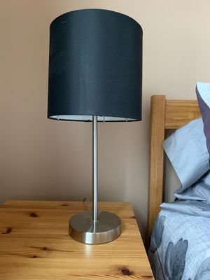 Black Table Lamp for Sale in Bloomington, IL