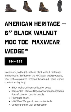 Men's Thorogood work boots for Sale in Daly City, CA