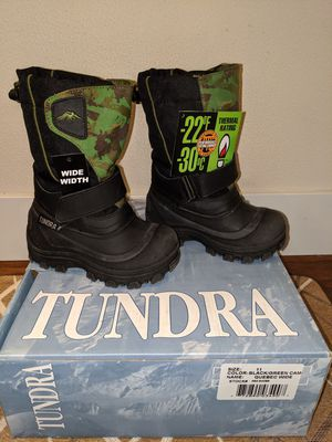 Toddler winter boots, sz 11 for Sale in Issaquah, WA