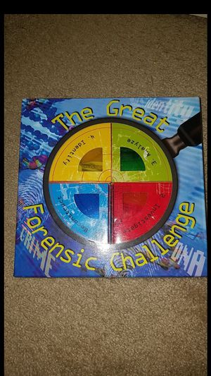 Great forensic challenge kids game for Sale in Birmingham, MI