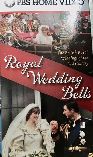 VHS tape on British Royal Weddings..for the Royals Collector for Sale in Saint Paul, MN