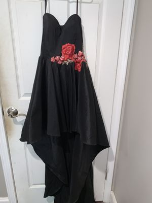 Black prom dress for Sale in Los Alamitos, CA