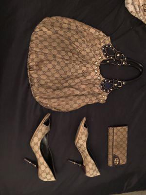 Gucci purse, wallet and hills for Sale in Ontario, CA