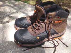 Wolverine steel toe boots size 12 for Sale in NEW PRT RCHY, FL