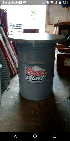 Coors light bar table and chairs for Sale in Quincy, IL