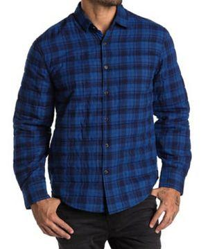 Thomas Dean Plaid Crinkled Shirt Jacket Men's M for Sale in Sacramento, CA