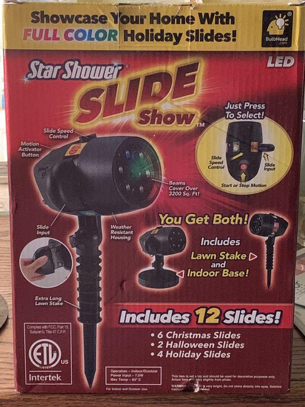 Star shower slide show BRAND NEW $25