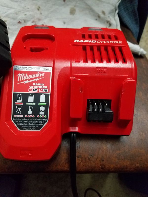 Milwaukee 18v Brushless circular saw -8.0 battery and charger - new
