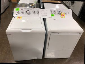 GE Top Load Washer and Electric Dryer Set ‼️ 1Y for Sale in Houston, TX