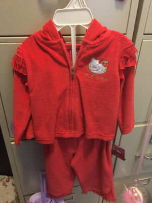 Hello Kitty Infant Velour 2 Piece Set for Sale in Winter Garden, FL