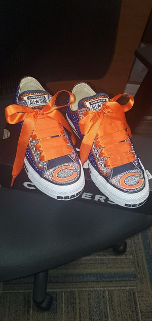Custom designed Chicago Bears Converse for Sale in Oakbrook Terrace, IL