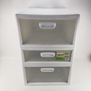 Plastic Storage 3 Drawers Bins Organizer stackable for Sale in Fort Lauderdale, FL