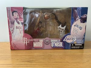 SHAQ Yao Ming Action Figure Set for Sale in Tampa, FL