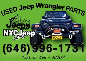 Jeep Wrangler Parts for Sale in Queens, NY