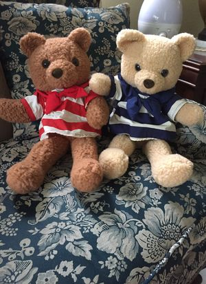 (2) teddy bear for Sale in Pompano Beach, FL