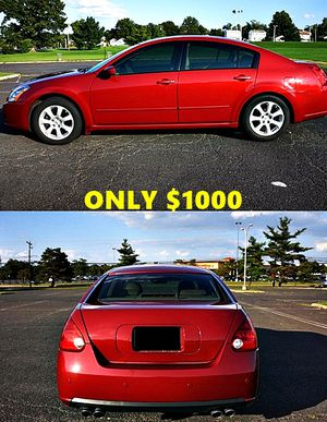 Red 2007 Nissan Maxima SL for Sale in Buffalo, NY