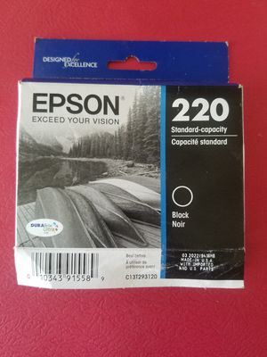 Epson 220 black ink for Sale in San Mateo, CA