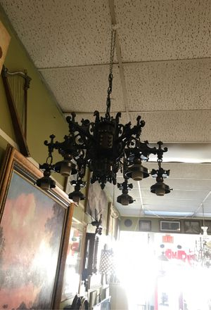 Iron chandelier for Sale in North Miami, FL