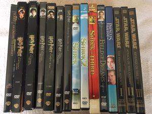 15 Family / Kids DVDs. Shrek, Harry Potter, Star Wars for Sale in Covington, WA