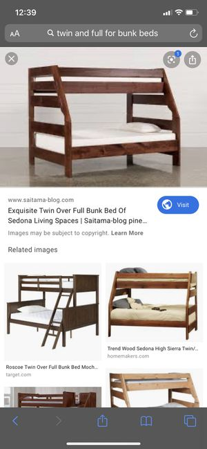 Full/ twin bunk bed for Sale in Mesa, AZ