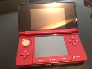 Nintendo 3DS Flame Red Edition (First Generation) for Sale in Toms River, NJ