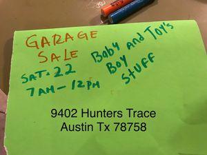 Garage Sale for Sale in Austin, TX