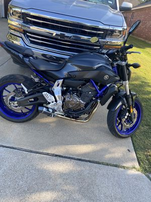 Yamaha FZ07 1200 miles for Sale in Dallas, TX