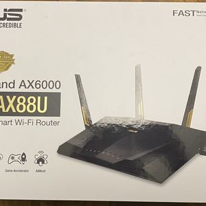 ASUS RT-AX88U AX6000 Dual-Band Gigabit SmartGaming Router WiFi 6 Supporting MU-MIMO (802.11ax) for Sale in Cedar Park, TX