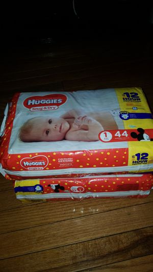 Huggies Snug & Dry Diapers for Sale in Bolingbrook, IL