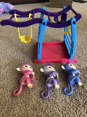Fingerlings and swing set for Sale in Zephyrhills, FL