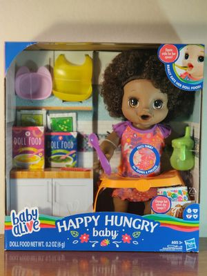 Baby Alive happy hungry baby doll. Girl toy by Hasbro. Ages 3 + NEW for Sale in Phoenix, AZ
