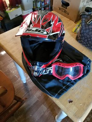 Youth XXL helmet, goggles & bag 2 carry it in for Sale in Elkton, VA