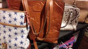 4 designer purses. Deal of a life time!! for Sale in Garland, TX