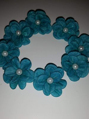 Flower crafts * material flowers * material beads * shadowbox decor * headband decor for Sale in Huntington Park, CA