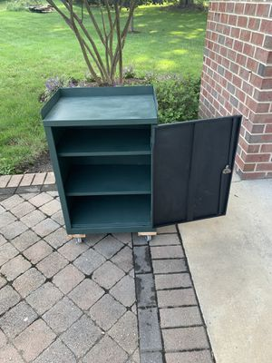 Classic solid metal workshop cabinet for Sale in Dunkirk, MD