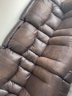 Leather Recliner Sofa for Sale in Sterling Heights,  MI