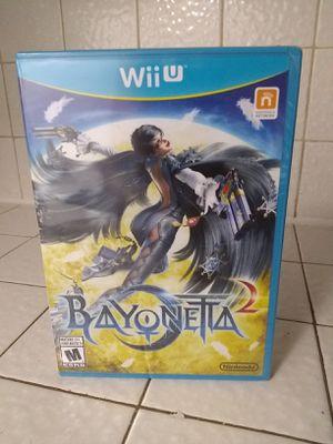 Bayonetta 2 Nintendo Wii U Brand New Sealed for Sale in Fresno, CA