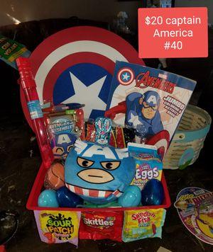 Captain America Easter basket for Sale in Las Vegas, NV