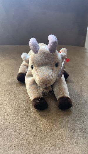 Goatee the goat beanie baby for Sale in Atlanta, GA
