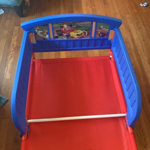 Mickey toddler Bed - Fits Crib Mattress for Sale in Atlanta, GA