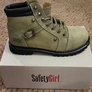 Safety Girl Fusion Work Boot -moss- Steel Toe for Sale in Elgin, IL