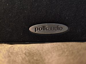 POLK Audio blackout 5.1 surround system and I will throw in a pioneer reciever for a extra $25 for Sale in Portland, OR