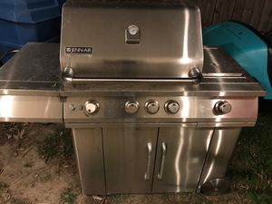 JENN-AIR Stainless Steel Gas Grill for Sale in Virginia Beach, VA