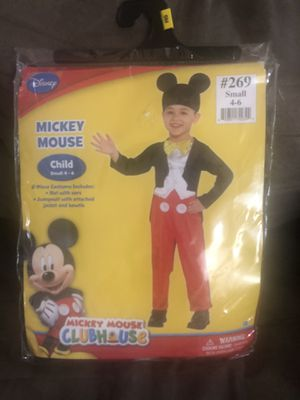 Toddler size 4-6 Mickey Mouse costume for Sale in Hartford, CT