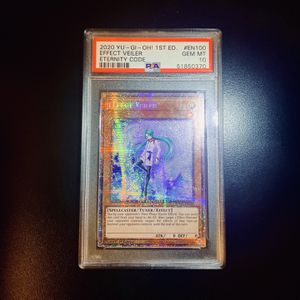 YUGIOH! EFFECT VEILER STARLIGHT RARE PSA GEM MINT 10! for Sale in Commerce, CA