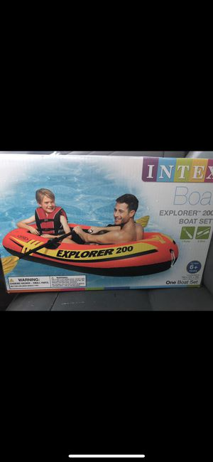Intel explorer 200 inflatable boat NEW for Sale in Norcross, GA