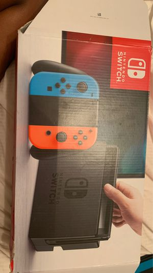 Nintendo switch with cord, just dance, Mario cart, Nintendo tablet, (no charger or remotes) and box for Sale in Kennesaw, GA